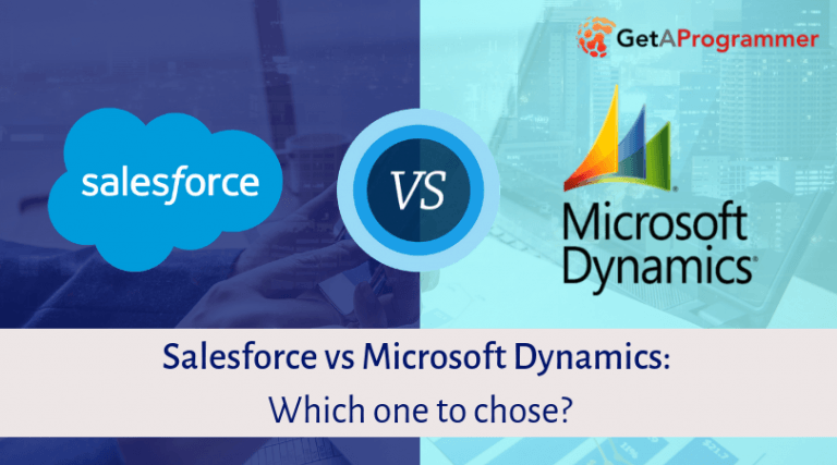 Salesforce Vs Ms Dynamics Crm Choose The Better One
