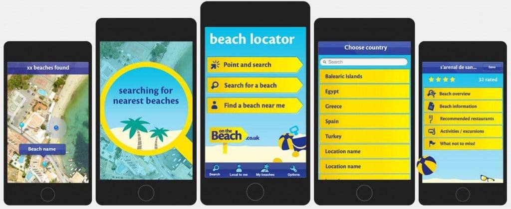 Beach locator