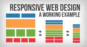 Responsive website development
